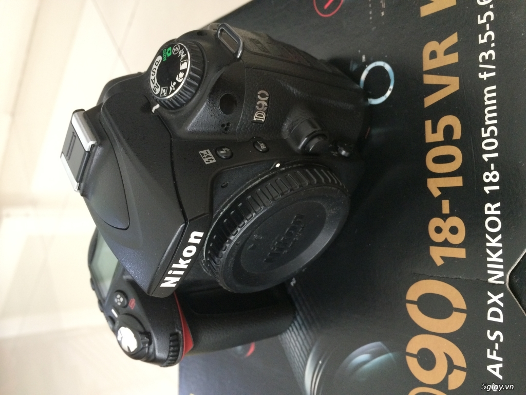 Thanh Lý D90 + kit + Flash Nikon SB-28 và một số phụ kiện - 2