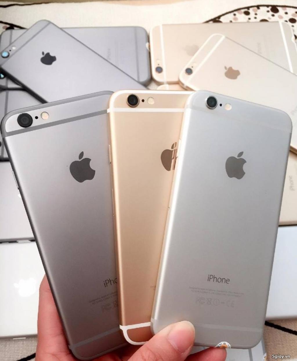 IPHONE 6-64G-Lock Nhật-Đủ 3 Màu.Zin100% A-Z: Vỏ,Main,MH...Zin theo máy - 5