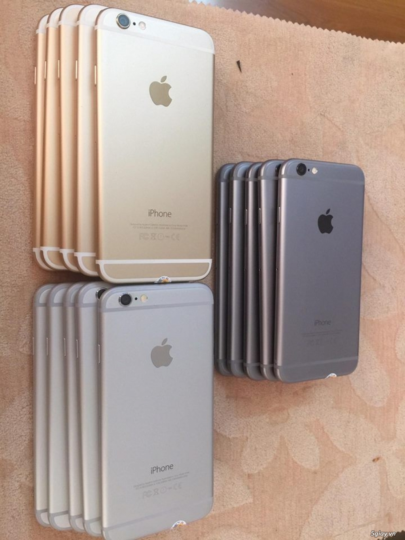 IPHONE 6-64G-Lock Nhật-Đủ 3 Màu.Zin100% A-Z: Vỏ,Main,MH...Zin theo máy - 4