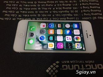 iphone 5 32gb trắng qtế zin đẹp 99%