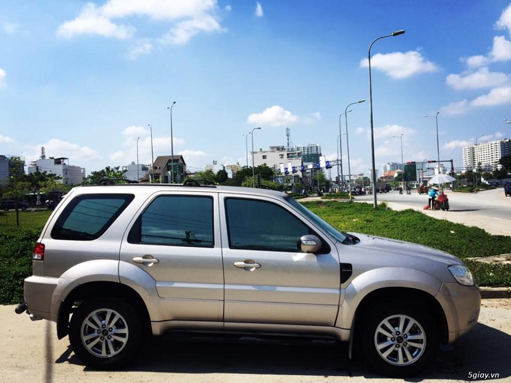 ESCAPE 2.3L 2011 XLS ghi vàng 1 cầu xe gia đình đi giữ kĩ - 4