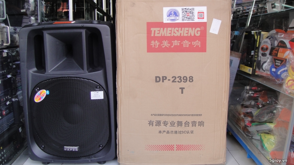 Loa kéo Temeisheng DP 2398T 600W bass 50 mới 100% có bán trả góp - 3