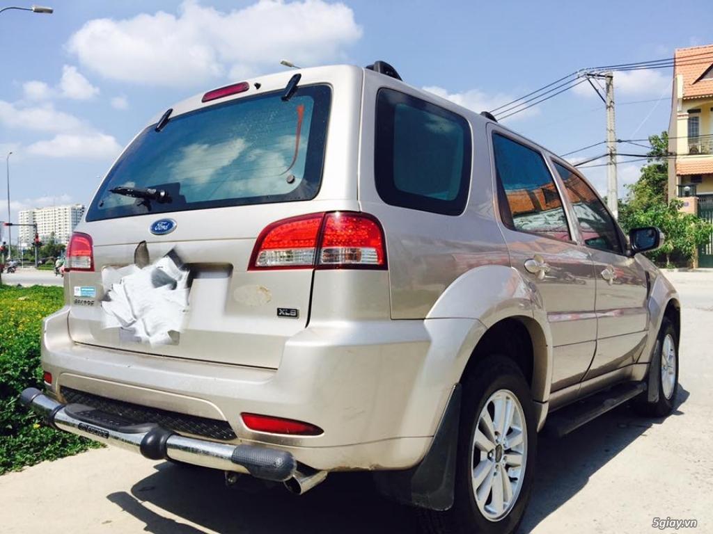 ESCAPE 2.3L 2011 XLS ghi vàng 1 cầu xe gia đình đi giữ kĩ - 8