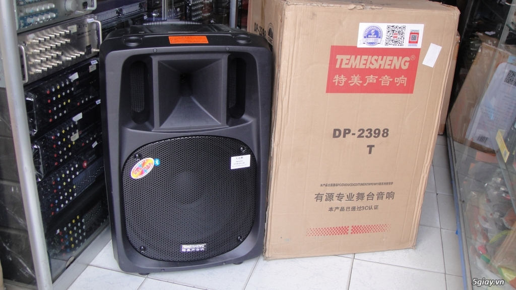Loa kéo Temeisheng DP 2398T 600W bass 50 mới 100% có bán trả góp - 1