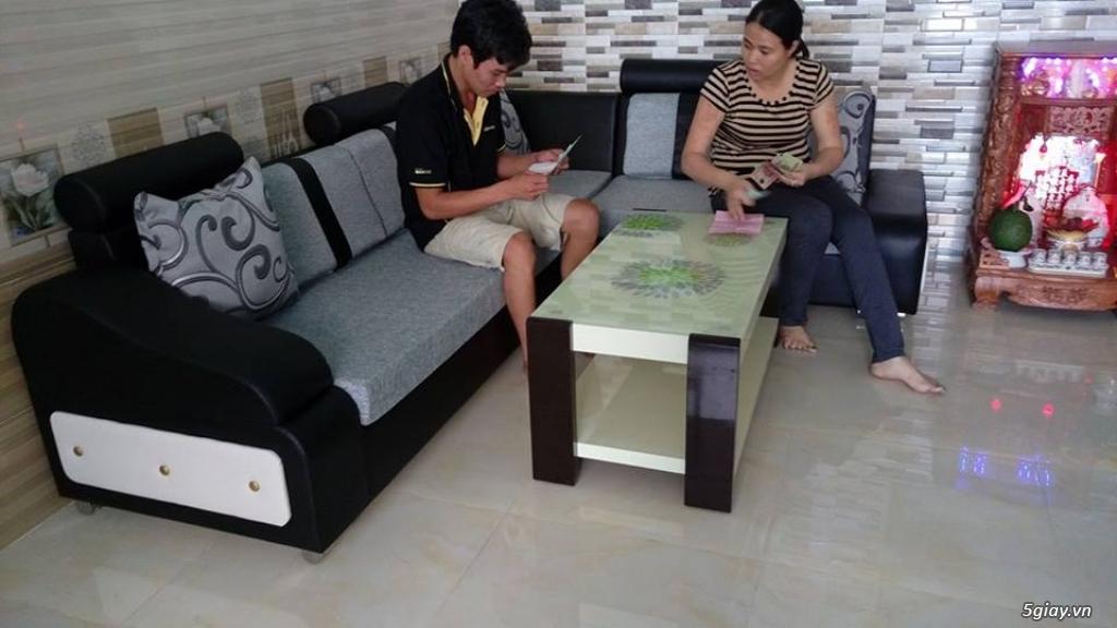 Ghế sofa góc ở xưởng sản xuất giá rẻ tại gò vấp - 5
