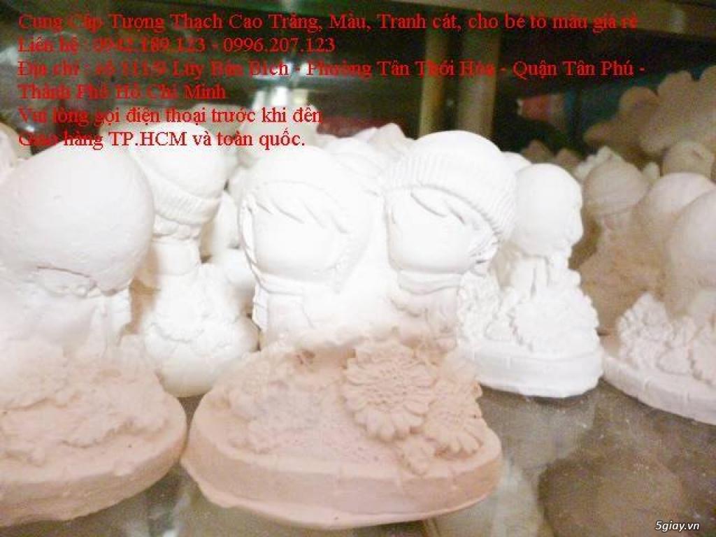 Bán Combo tranh rắc cát, tượng thạch cao tô màu, cho trẻ em tô màu - 26