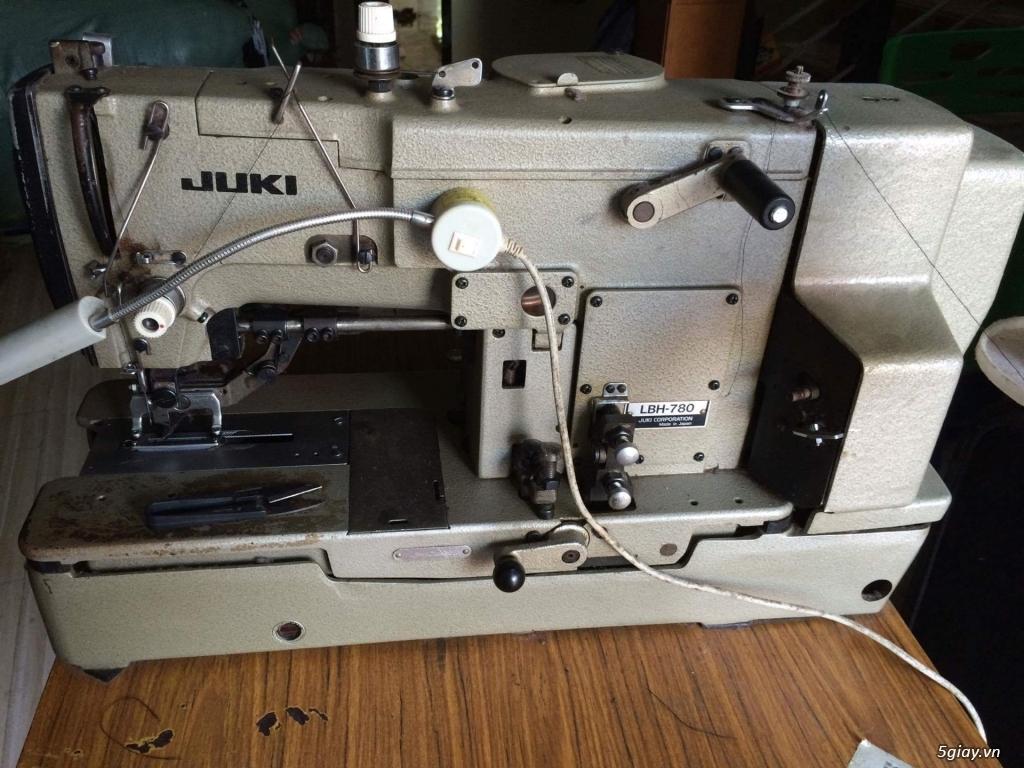 Cần bán máy thùa khuy juki 780 và máy nut juki 377 ( hàng nhật)