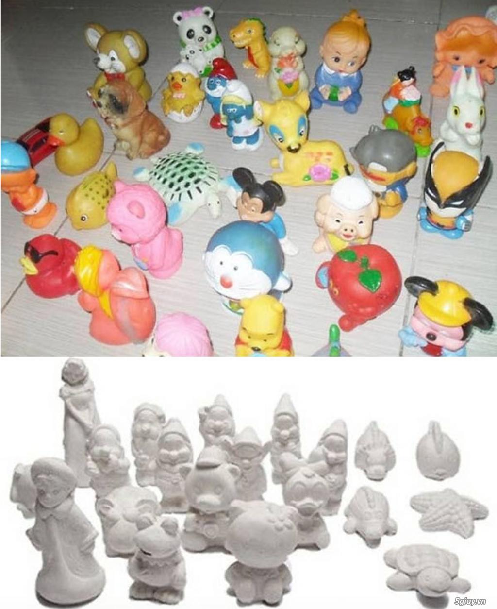 Bán Combo tranh rắc cát, tượng thạch cao tô màu, cho trẻ em tô màu - 2