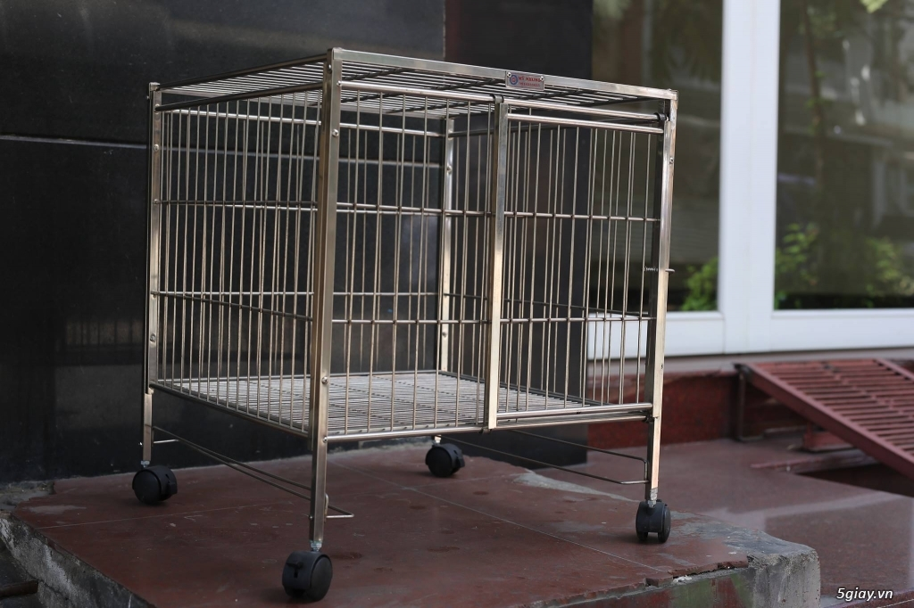 Chuyên các loại chuồng chó size nhỏ đến lớn. Có nhận đặt hàng theo size thú cưng ! - 4