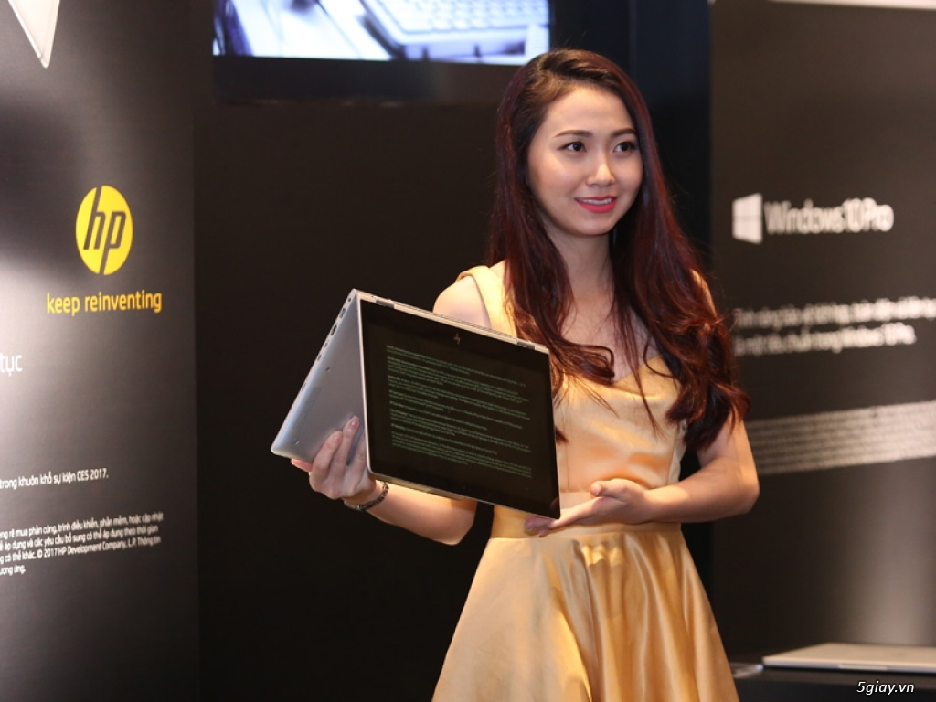 HP ra mắt laptop Spectre xoay - gập X360 giá khoảng 42 triệu đồng - 185124
