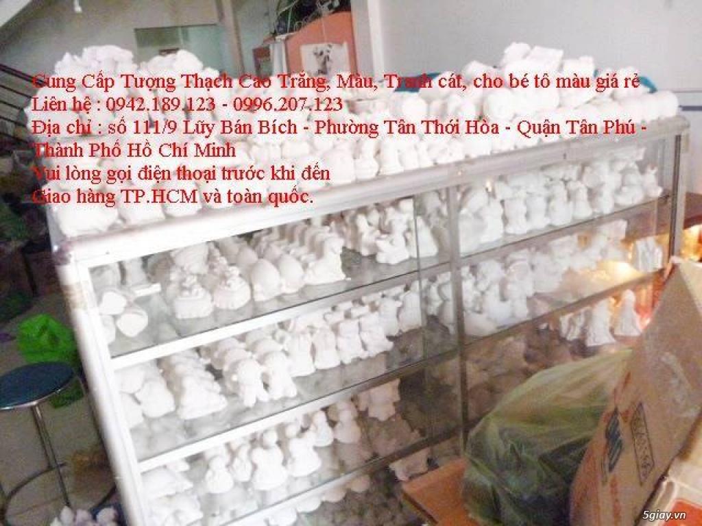 Bán Combo tranh rắc cát, tượng thạch cao tô màu, cho trẻ em tô màu - 24