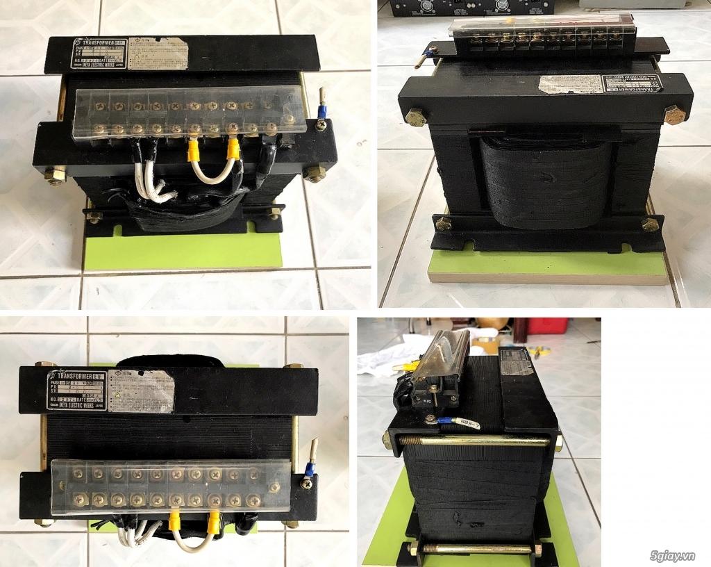 Box chống nhĩu/lọc điện,Biến áp cách li,DVD portable,LCD mini,ampli,loa,equalizer.... - 3