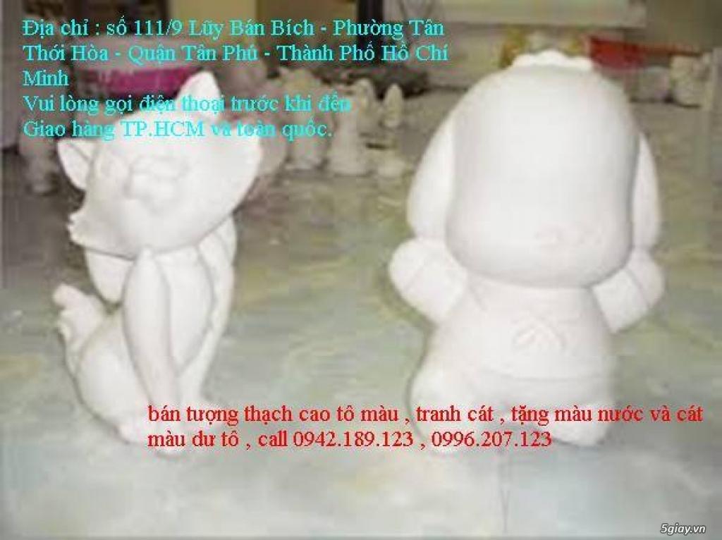 Bán Combo tranh rắc cát, tượng thạch cao tô màu, cho trẻ em tô màu - 18