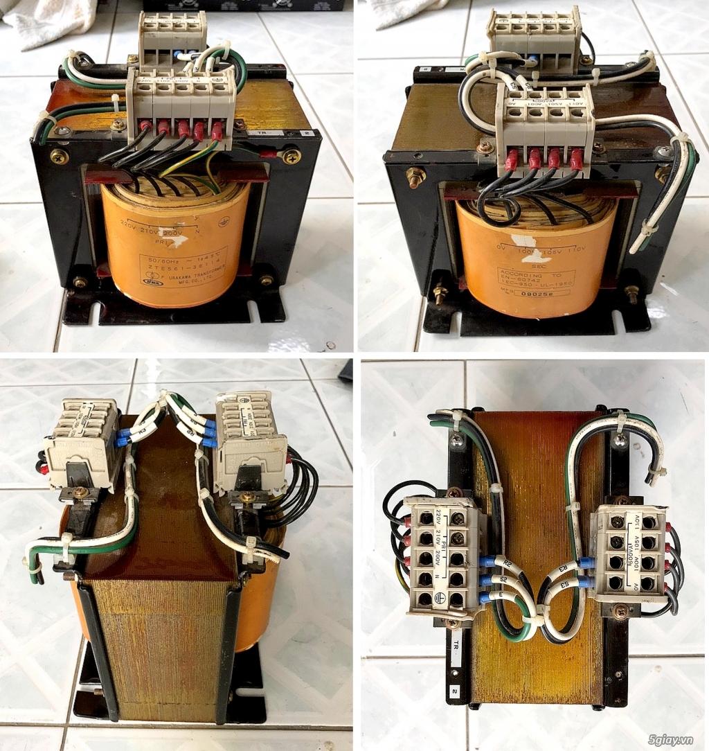 Box chống nhĩu/lọc điện,Biến áp cách li,DVD portable,LCD mini,ampli,loa,equalizer.... - 4
