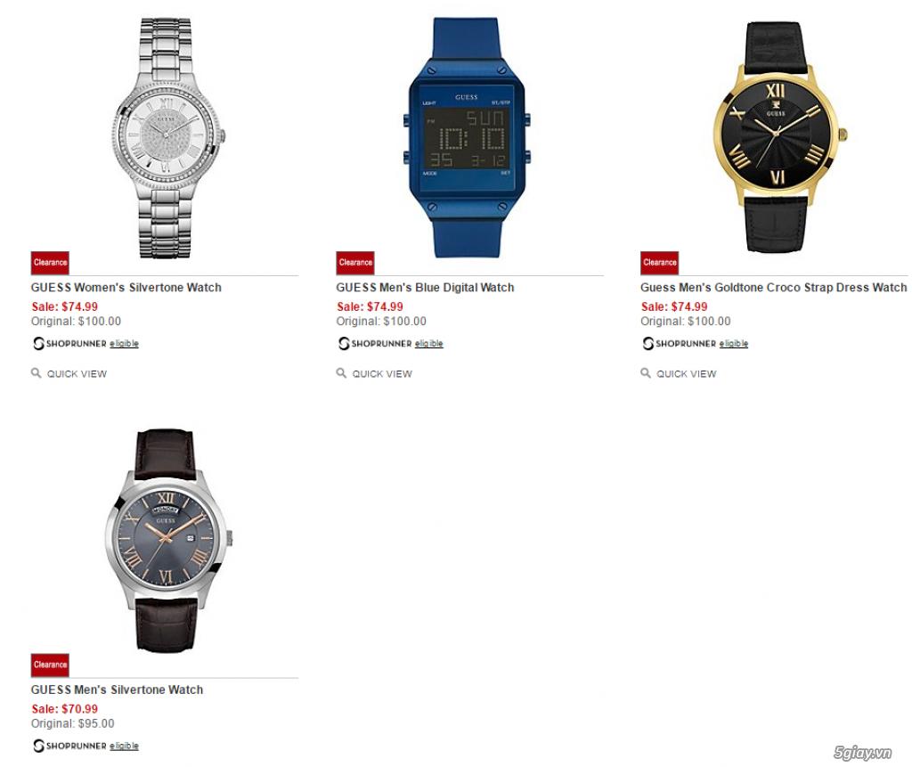 Order đồng hồ giá rẻ!!! Fossil, Guess, MK, Timex, MK, AK, AX ... - 25