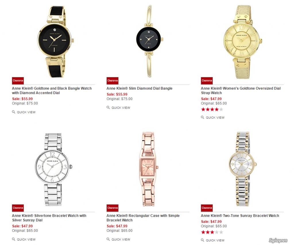 Order đồng hồ giá rẻ!!! Fossil, Guess, MK, Timex, MK, AK, AX ... - 3