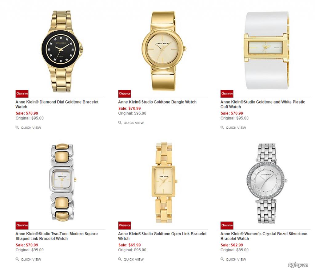 Order đồng hồ giá rẻ!!! Fossil, Guess, MK, Timex, MK, AK, AX ... - 4