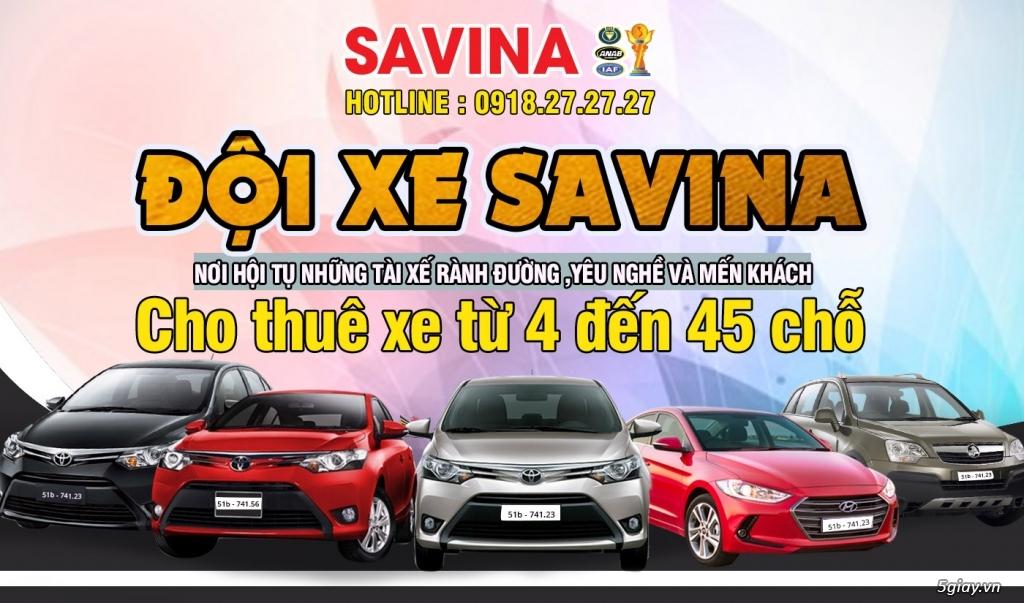 Cho thuê xe du lịch 4 chỗ, 7 chỗ tphcm | Savina