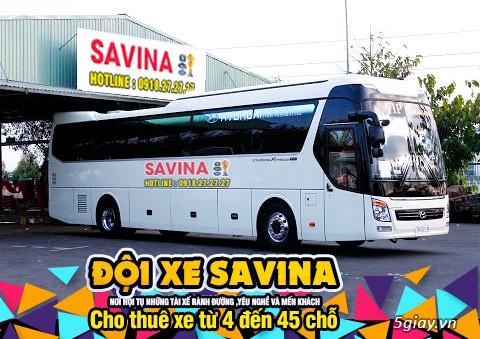 Cho thuê xe du lịch 16 chỗ, 45 chỗ tphcm | Savina - 15