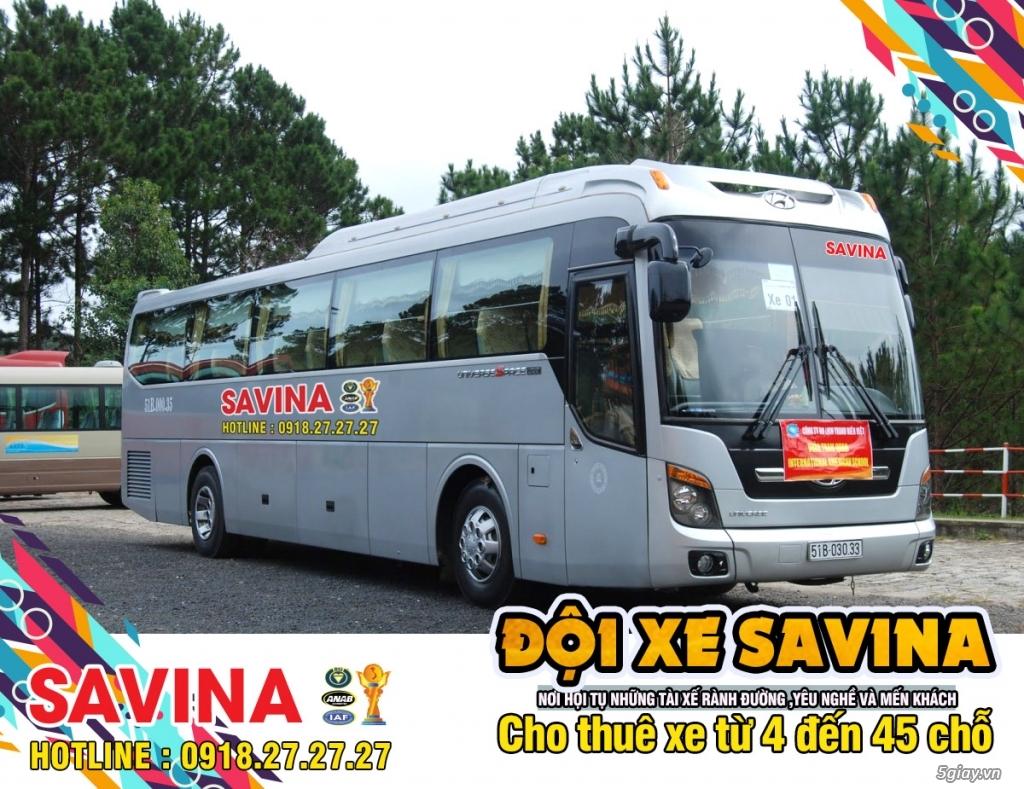 Cho thuê xe du lịch 16 chỗ, 45 chỗ tphcm | Savina - 13