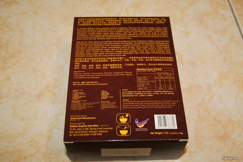 [HCM] Món Bak Kut Teh ngon bổ (9 gói) dành cho những người yêu ẩm thực - 1