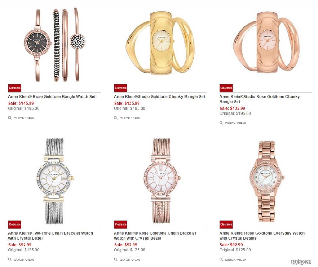 Order đồng hồ giá rẻ!!! Fossil, Guess, MK, Timex, MK, AK, AX ...