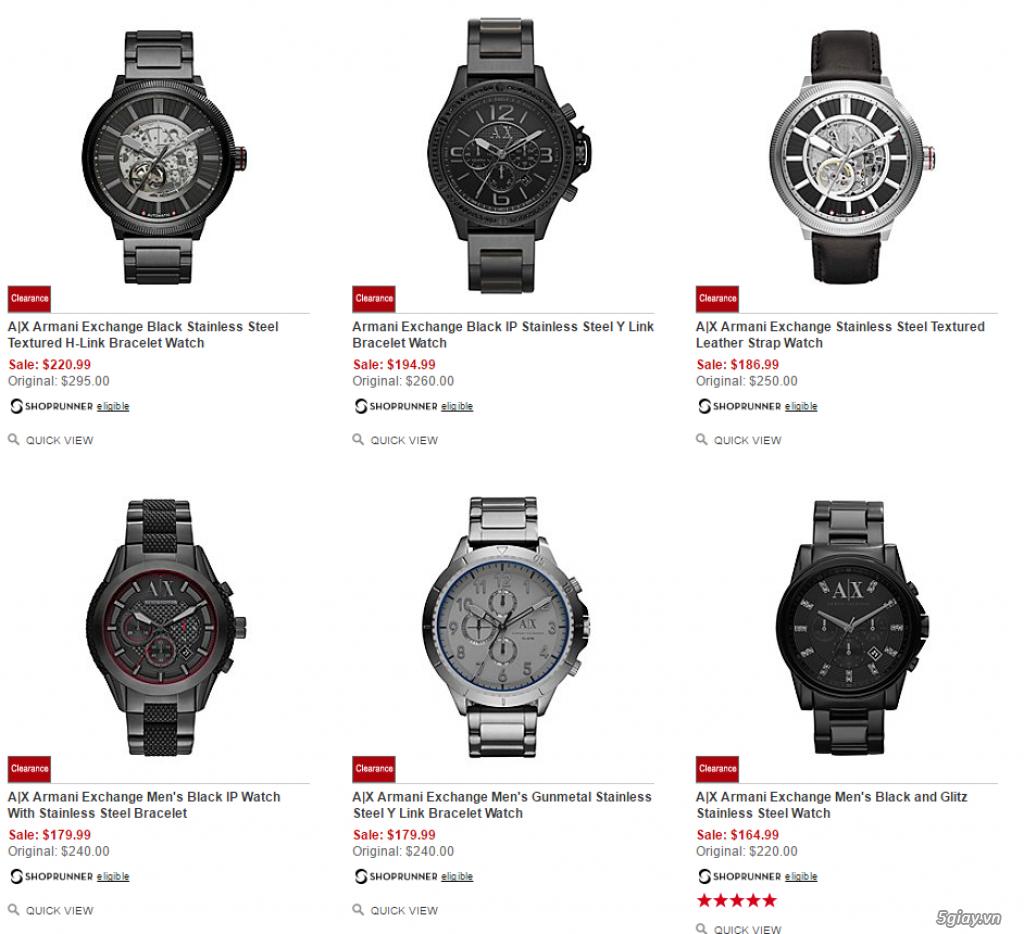 Order đồng hồ giá rẻ!!! Fossil, Guess, MK, Timex, MK, AK, AX ... - 6