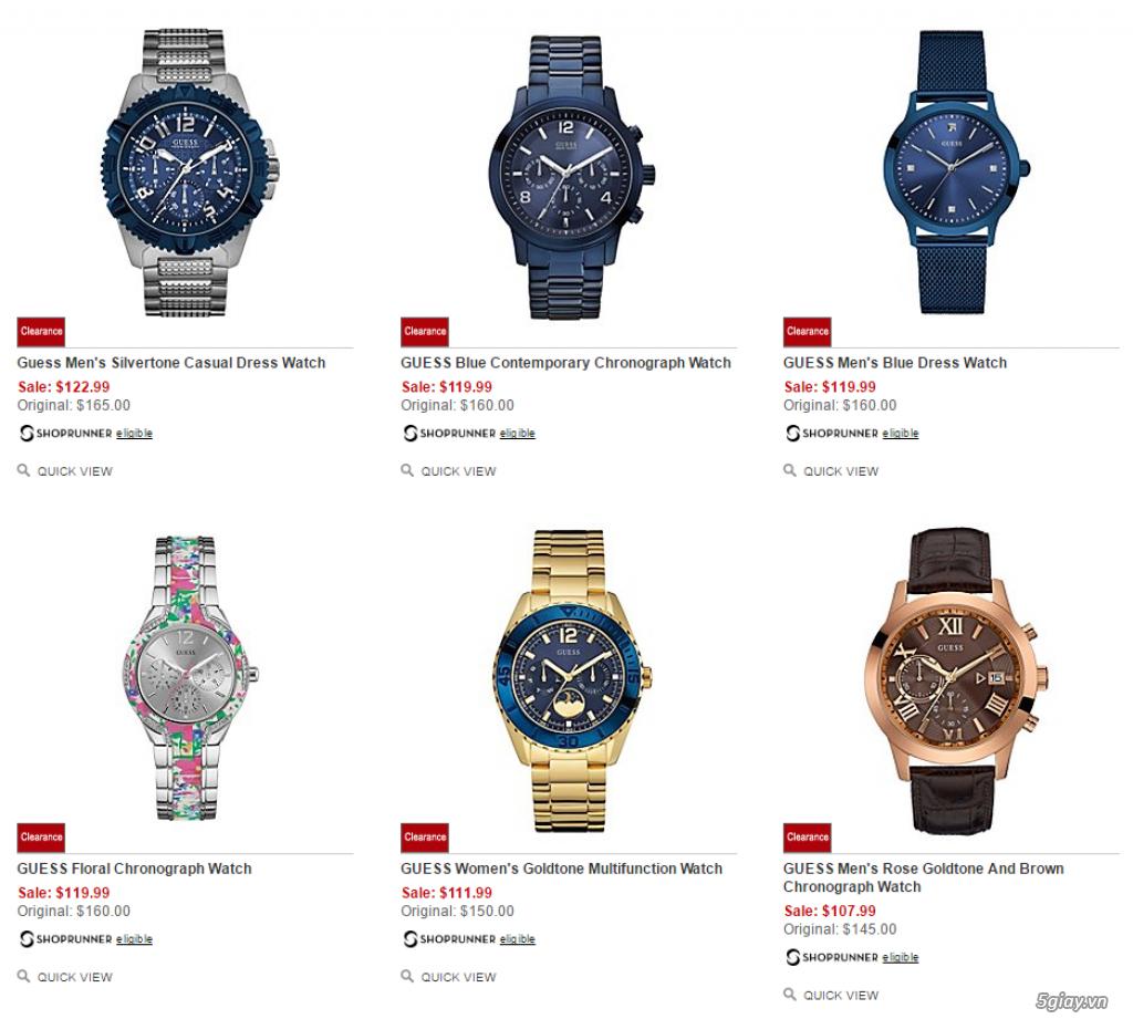Order đồng hồ giá rẻ!!! Fossil, Guess, MK, Timex, MK, AK, AX ... - 22