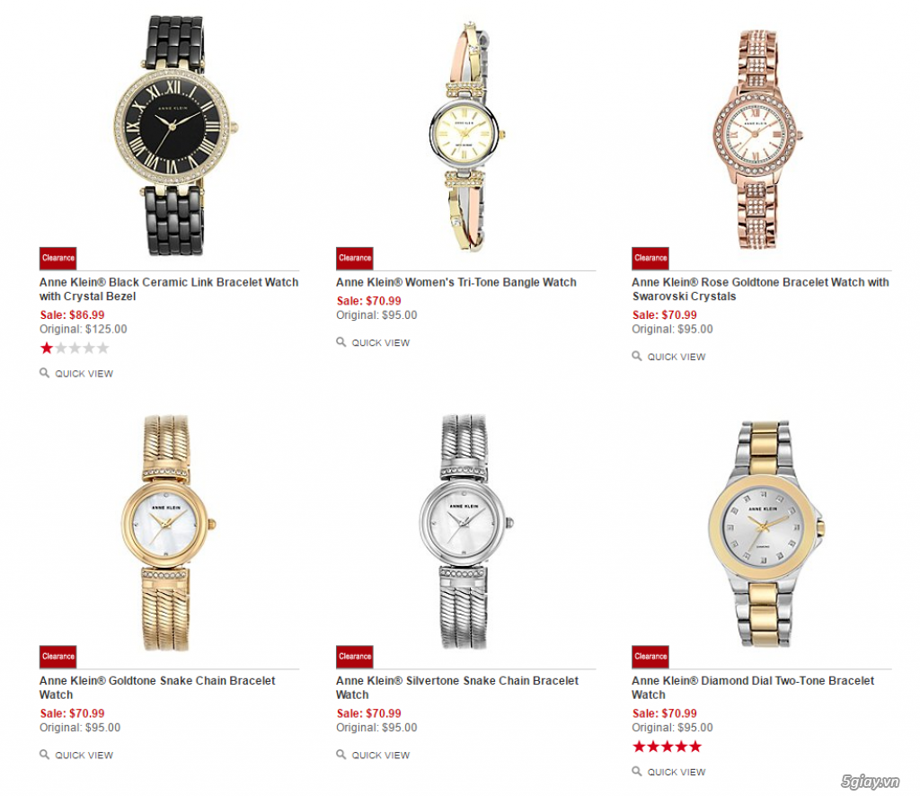 Order đồng hồ giá rẻ!!! Fossil, Guess, MK, Timex, MK, AK, AX ... - 1