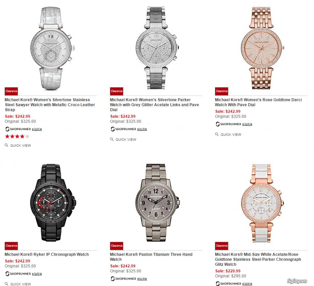 Order đồng hồ giá rẻ!!! Fossil, Guess, MK, Timex, MK, AK, AX ... - 16