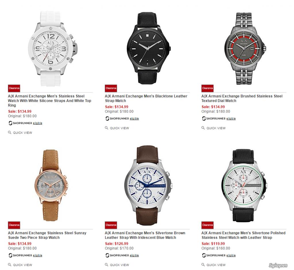 Order đồng hồ giá rẻ!!! Fossil, Guess, MK, Timex, MK, AK, AX ... - 7