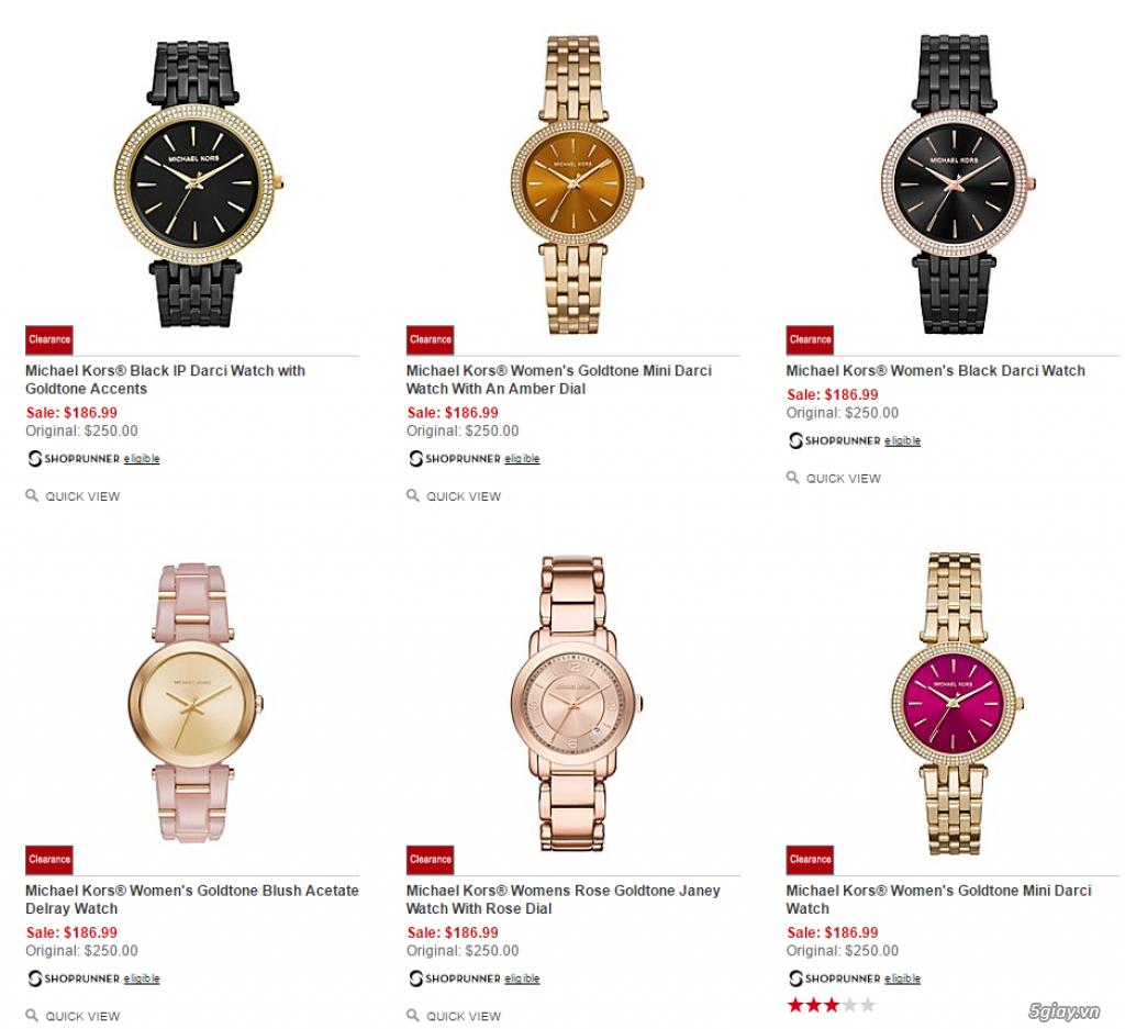 Order đồng hồ giá rẻ!!! Fossil, Guess, MK, Timex, MK, AK, AX ... - 20