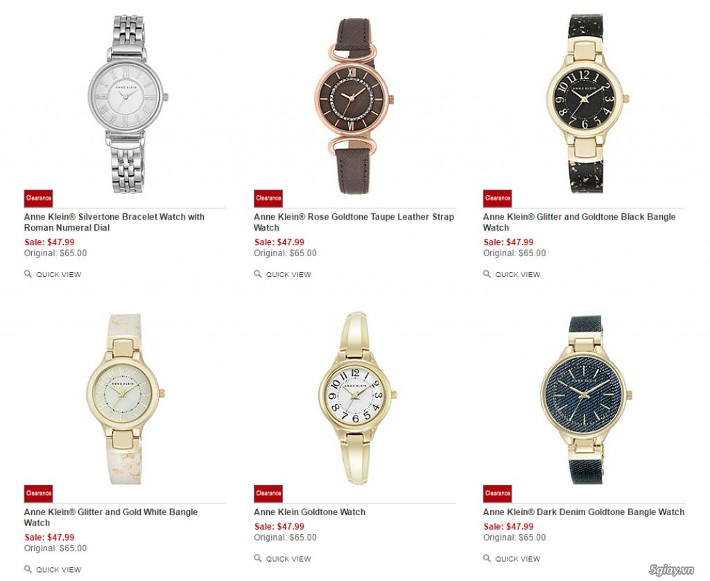 Order đồng hồ giá rẻ!!! Fossil, Guess, MK, Timex, MK, AK, AX ... - 2