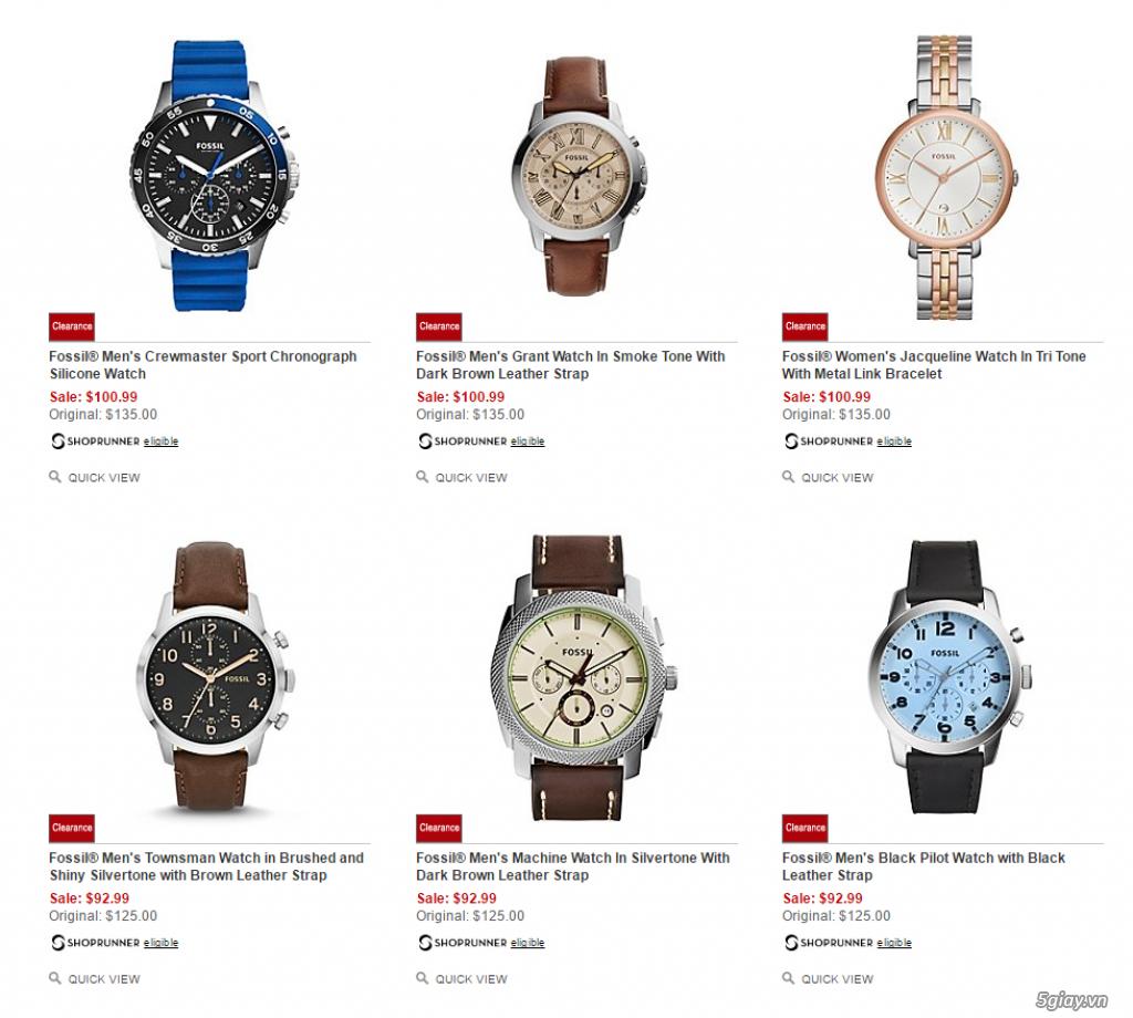 Order đồng hồ giá rẻ!!! Fossil, Guess, MK, Timex, MK, AK, AX ... - 14