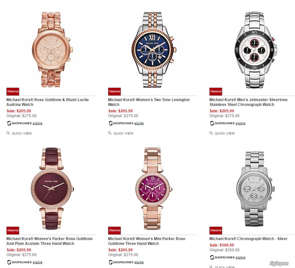 Order đồng hồ giá rẻ!!! Fossil, Guess, MK, Timex, MK, AK, AX ... - 19