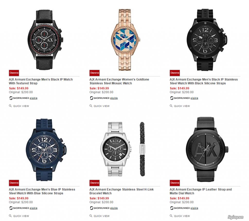 Order đồng hồ giá rẻ!!! Fossil, Guess, MK, Timex, MK, AK, AX ... - 5
