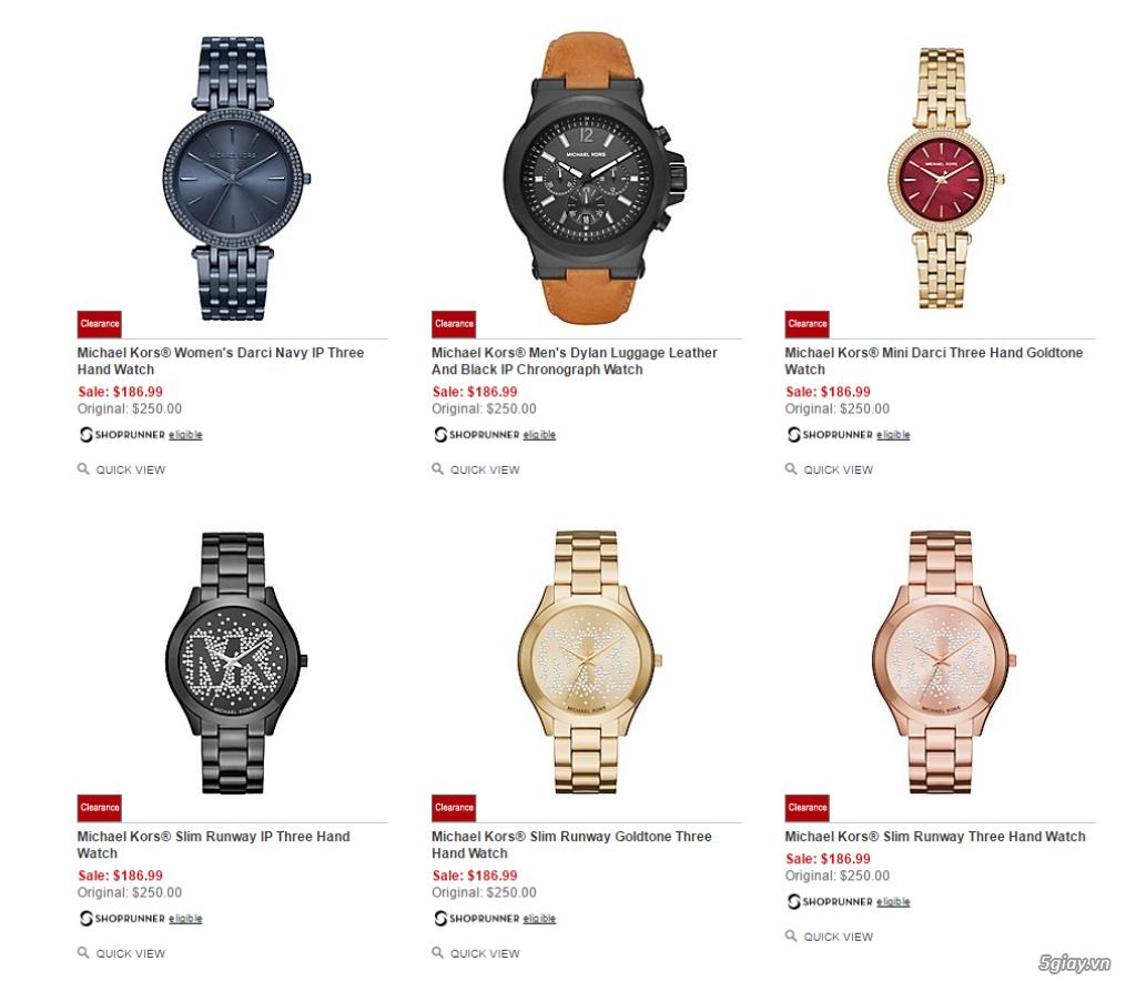 Order đồng hồ giá rẻ!!! Fossil, Guess, MK, Timex, MK, AK, AX ... - 23