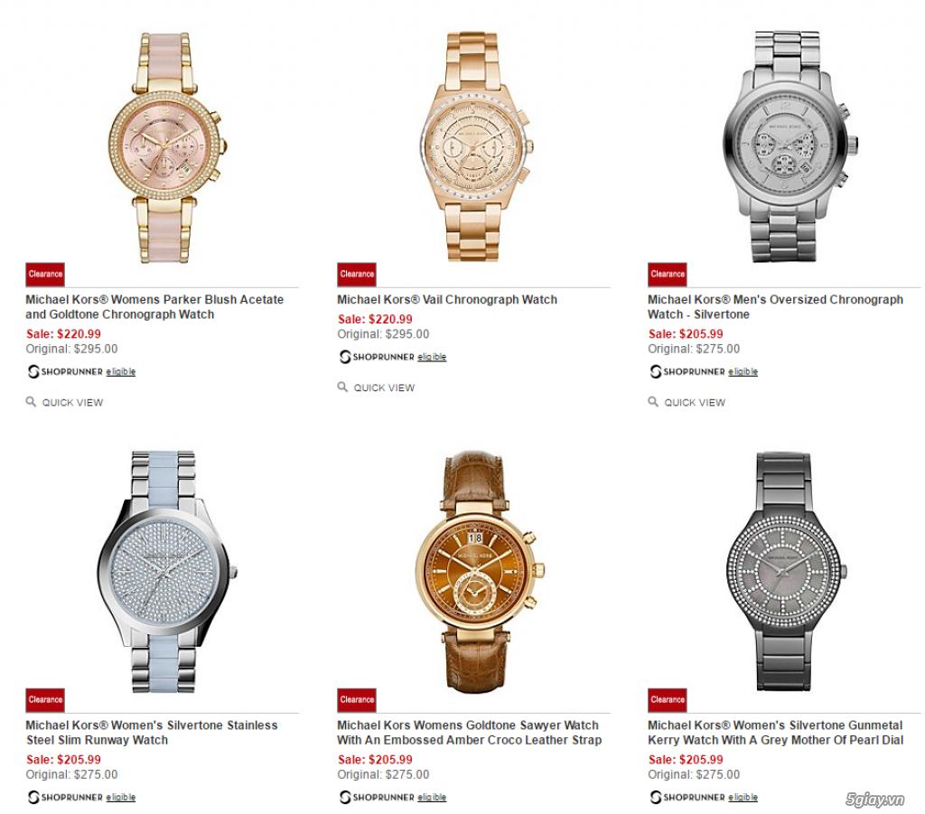 Order đồng hồ giá rẻ!!! Fossil, Guess, MK, Timex, MK, AK, AX ... - 15