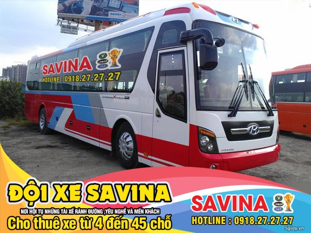 Cho thuê xe du lịch 16 chỗ, 45 chỗ tphcm | Savina - 10