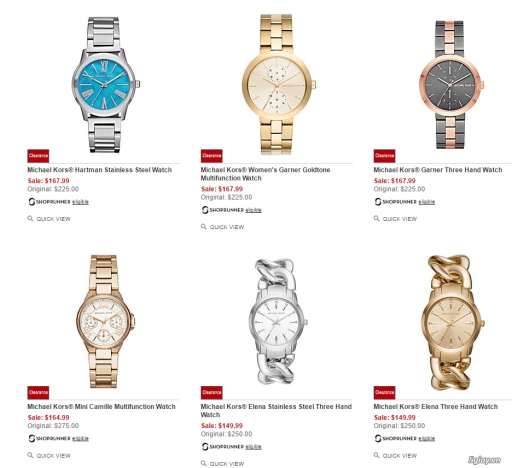 Order đồng hồ giá rẻ!!! Fossil, Guess, MK, Timex, MK, AK, AX ... - 21