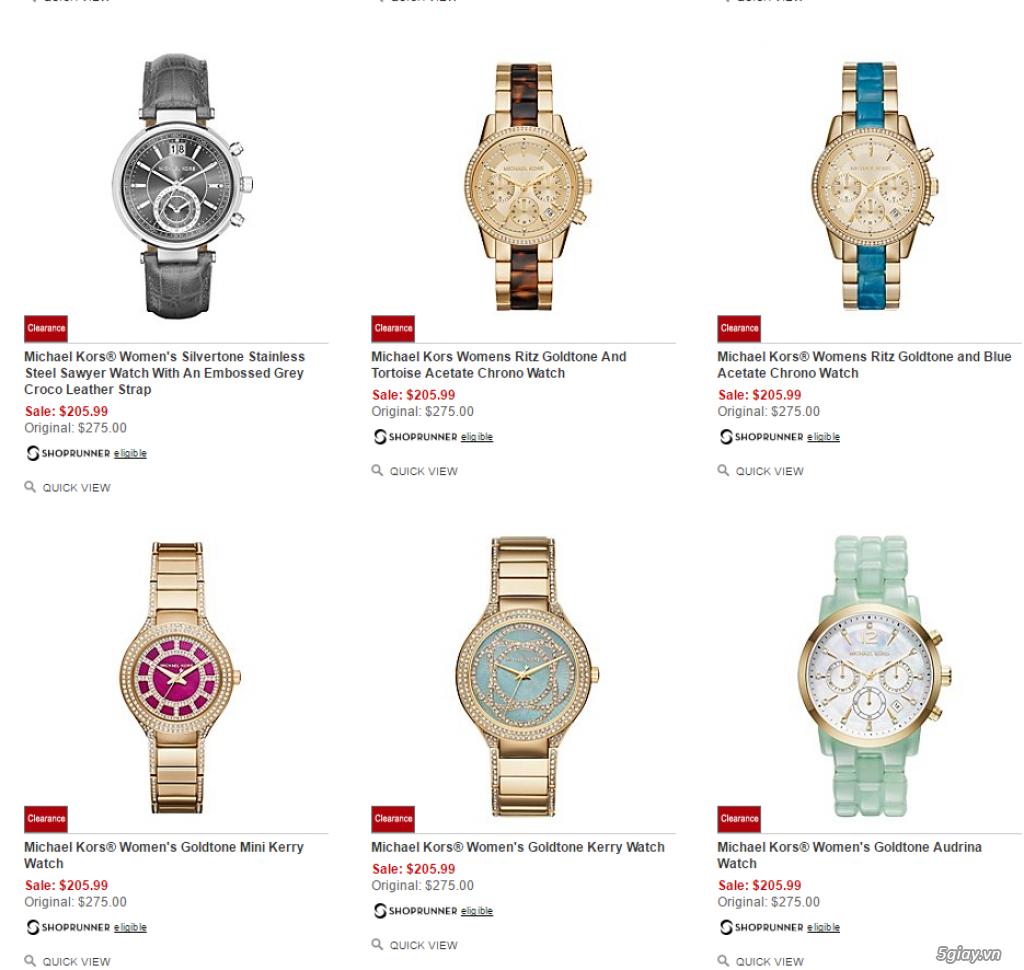 Order đồng hồ giá rẻ!!! Fossil, Guess, MK, Timex, MK, AK, AX ... - 18