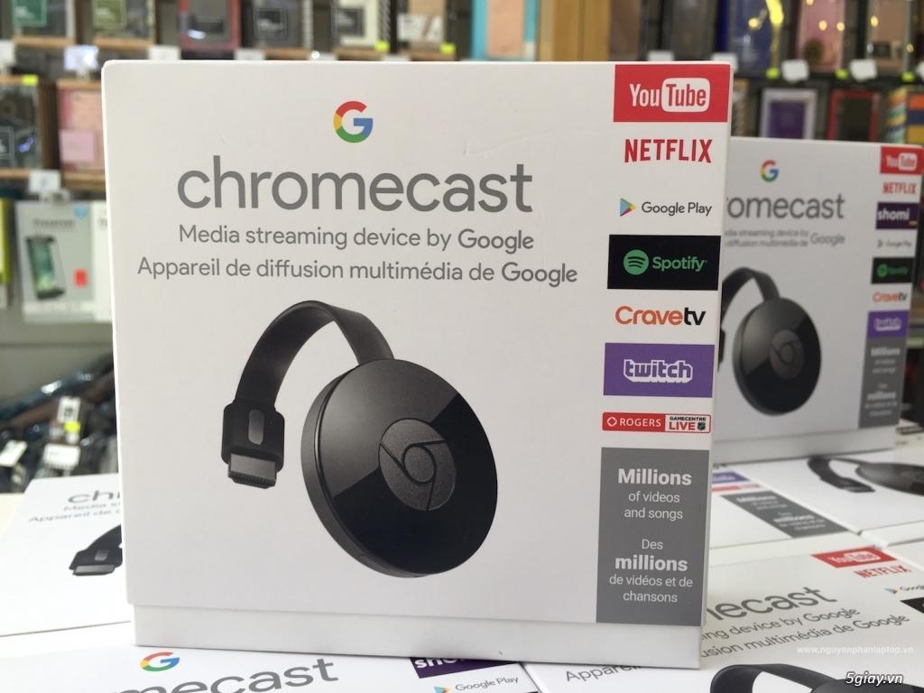 Google ChromeCast 2   Ultra 4K - Chia sẻ mọi nội dung yêu thích của bạn lên màn hình lớn - 7