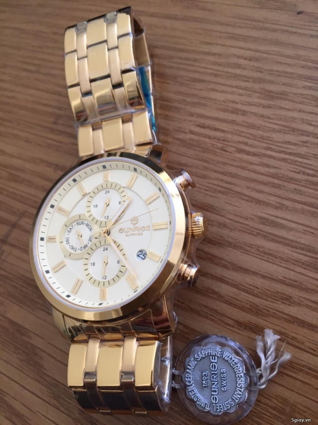 đồng hồ chính hãng xách tay các loại,mới 100%,có bảo hành - 15