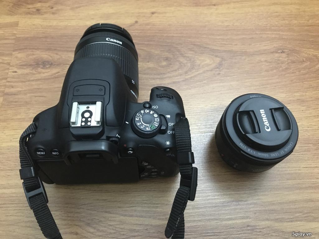 Cần bán Canon 700D full hộp + len 50mm - 4
