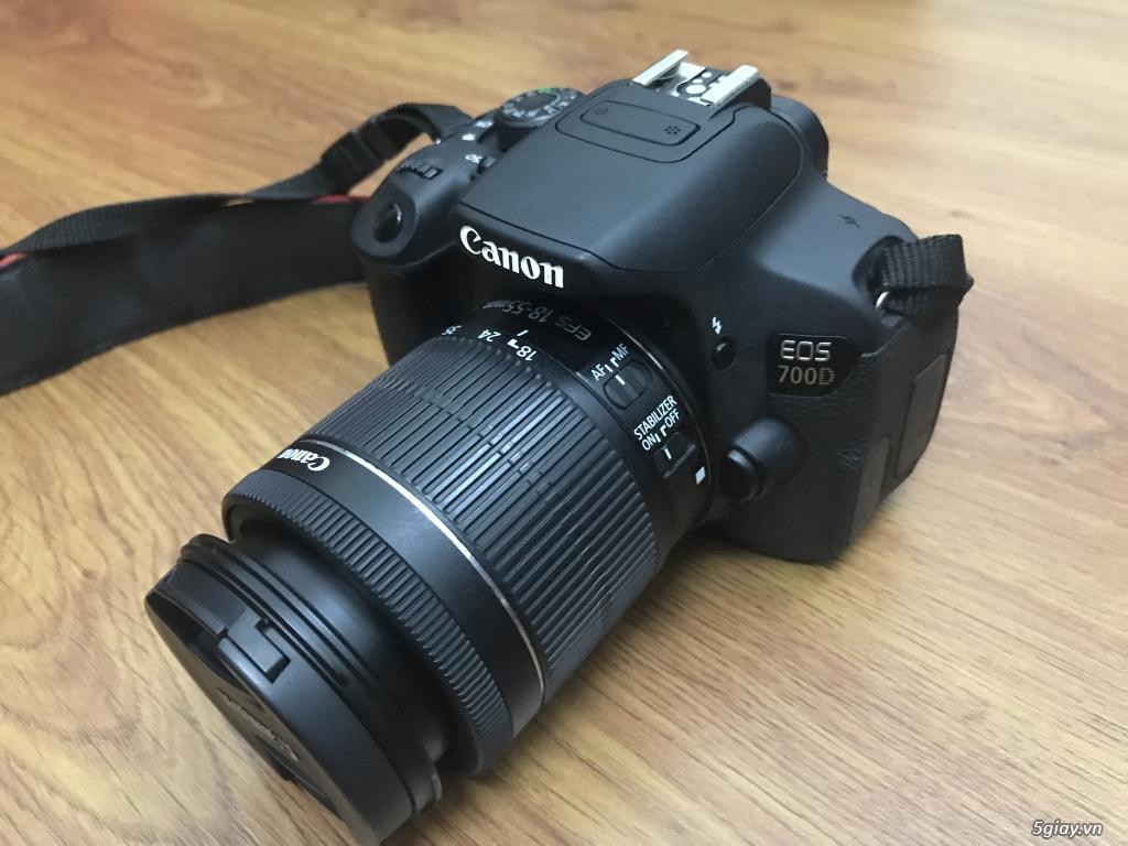 Cần bán Canon 700D full hộp + len 50mm - 2