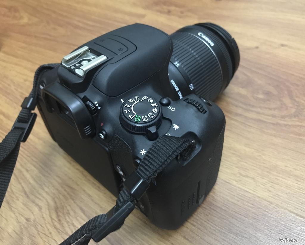 Cần bán Canon 700D full hộp + len 50mm - 1