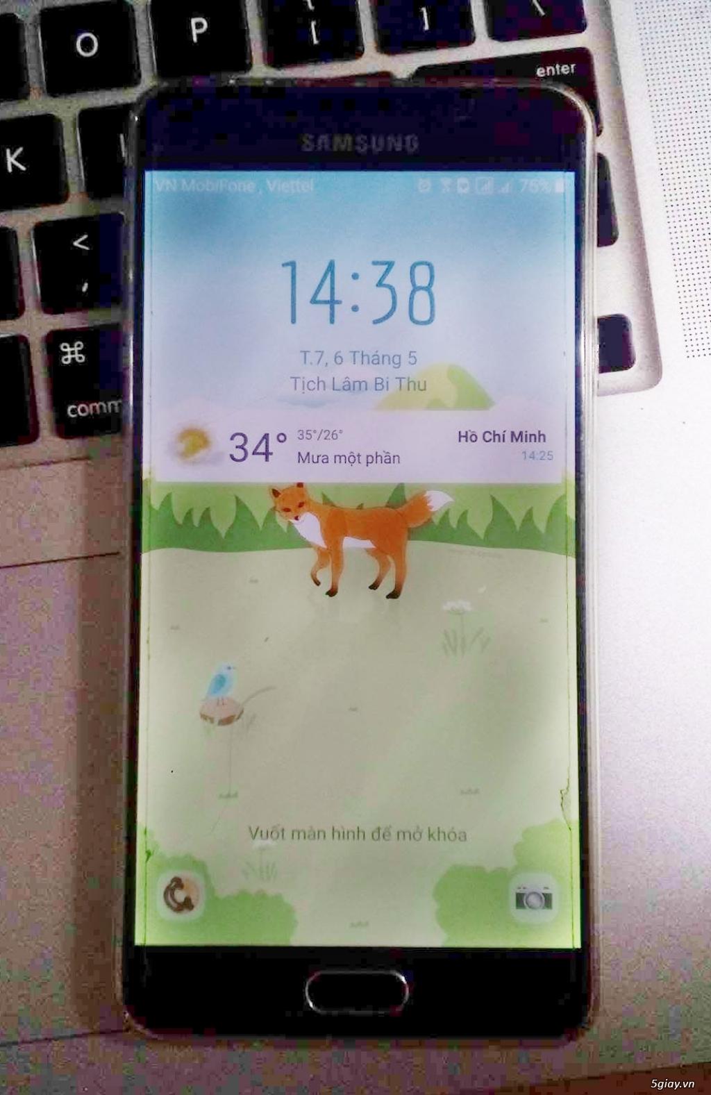 Samsung A7 (2016) like new. BH chính hãng 5 tháng - 1