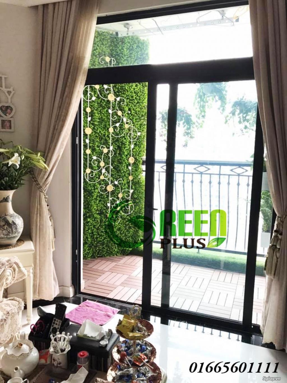 Dịch vụ trang trí hoa ban công, thiết kế ban công sân vườn tại Hà Nội - 10