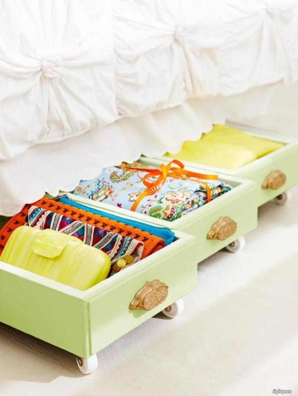 Ý tưởng sáng tạo tận dụng những chiếc ngăn kéo tủ cũ - 197512