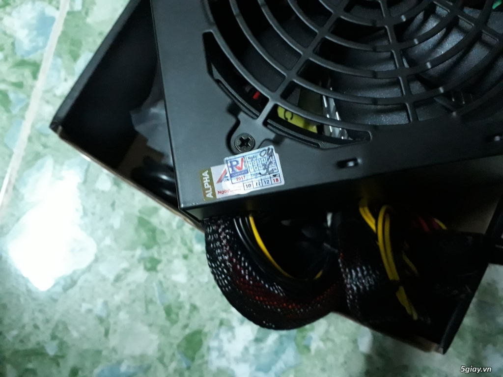 NGuồn cooler 550W new 100% thanh lý - 1